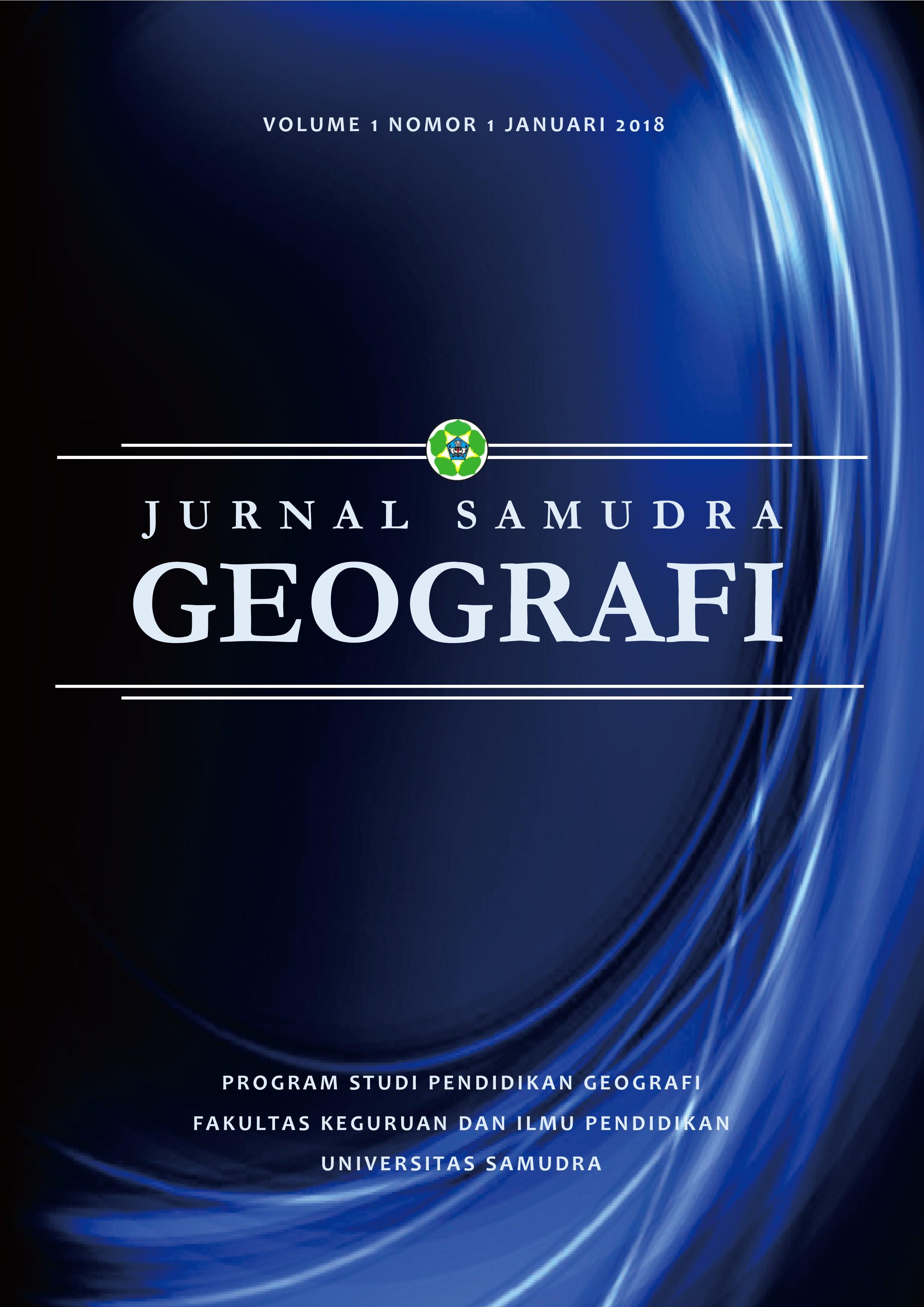 Jurnal Samudra Geografi