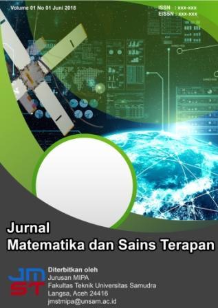 Jurnal Matetatika dan Sains Terapan